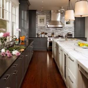 Gray kitchen 3